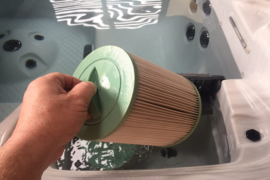 Good Spa Care Clean Your Filter Cartridges